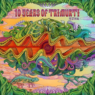 Various Artists - 10 Years Of Trimurti Festival